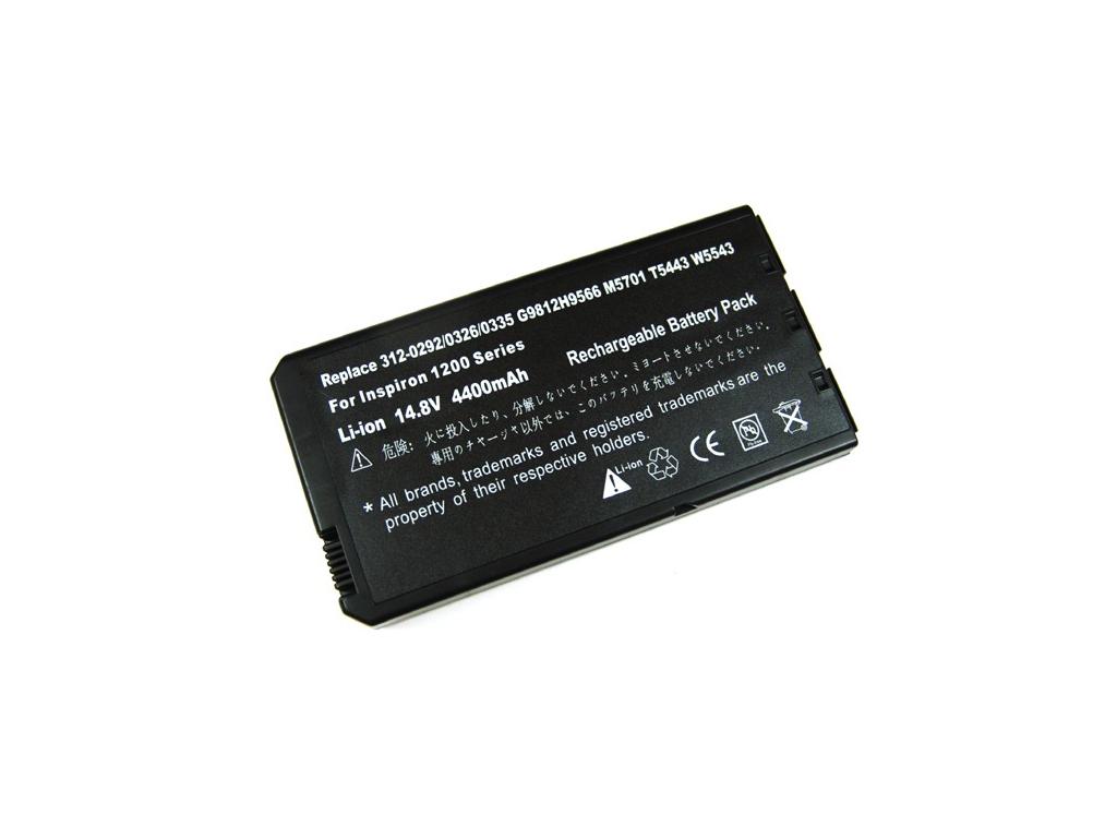 Batéria kompatibilná s Dell Inspirion 1000 Li-Ion 4400 mAh