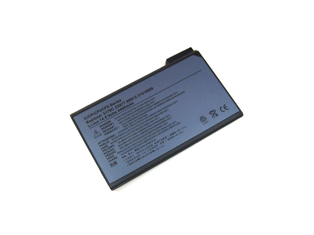 Batéria kompatibilná s Dell Inspiron 4000 / Latitude C500 Li-Ion 4400 mAh