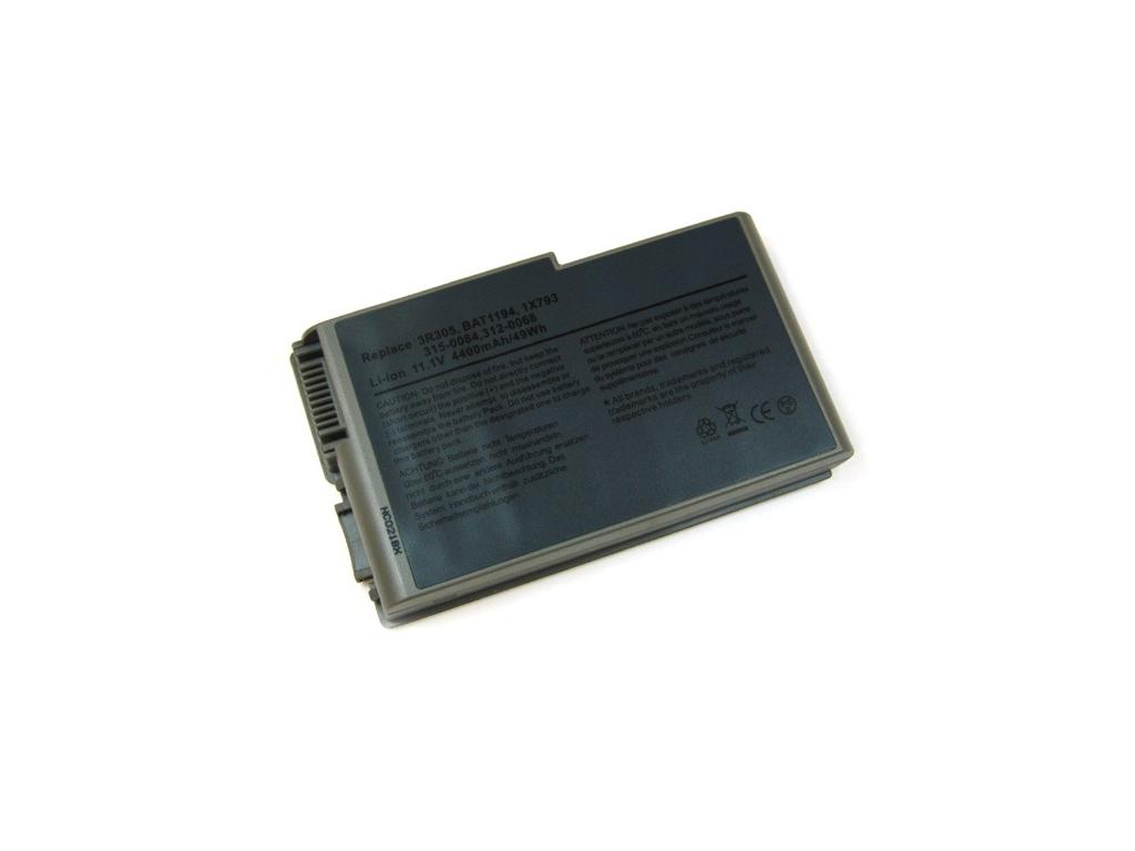 Batéria kompatibilná s Dell Inspiron 500m séria / 600m séria 4400 mAh Li-Ion sivá