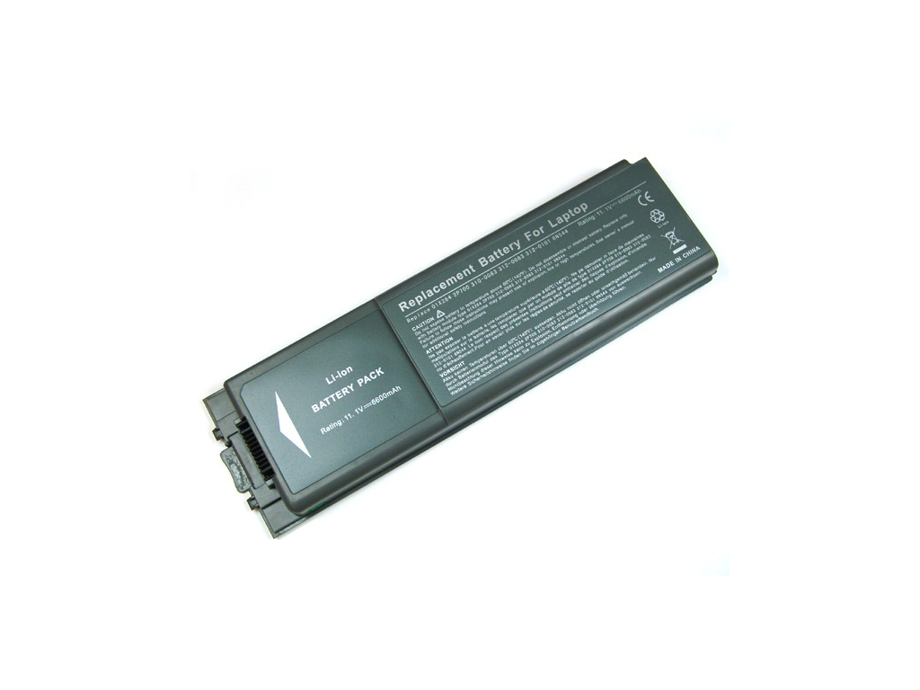 Batéria kompatibilná s Dell Inspiron 8500 Li-Ion 6600 mAh