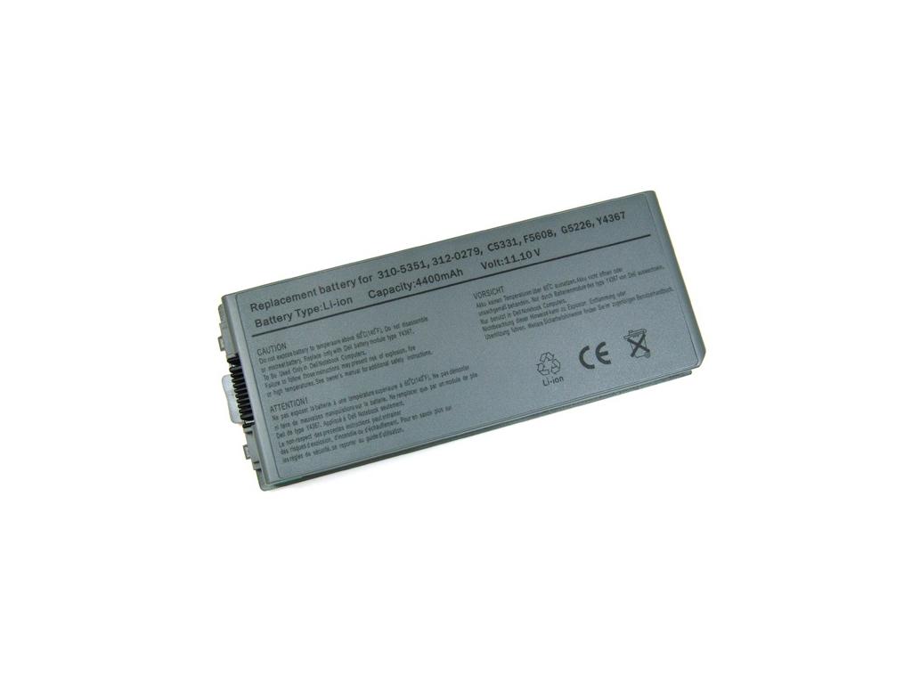 Batéria kompatibilná s Dell Latitude D810 Li-Ion 4400 mAh