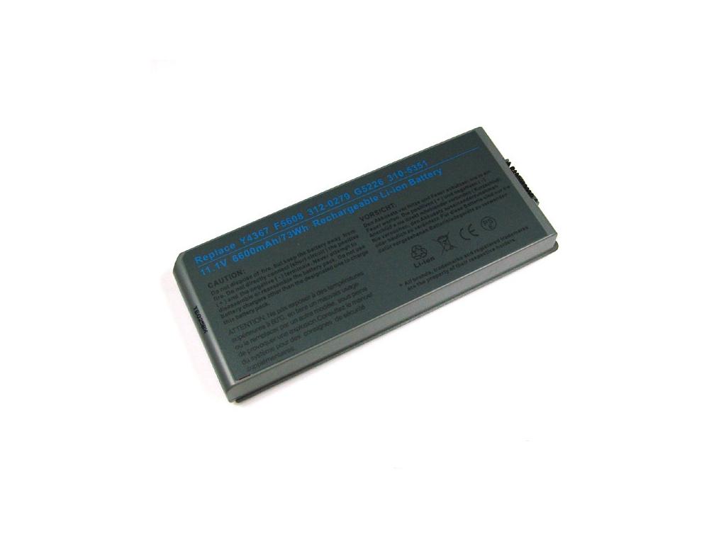Batéria kompatibilná s Dell Latitude D810 Li-Ion 6600 mAh