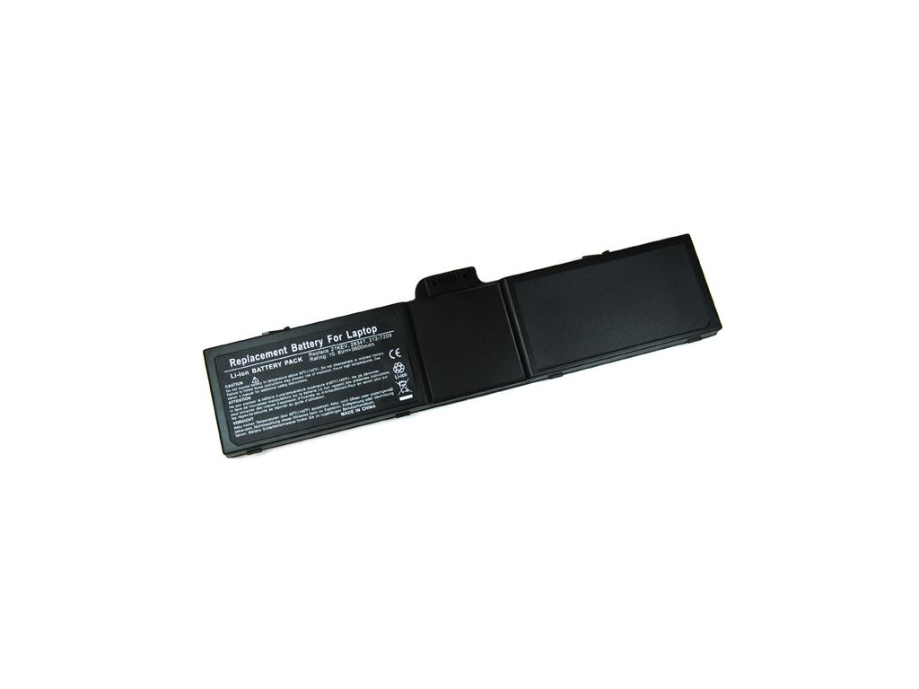 Batéria kompatibilná s Dell Latitude L400 Li-ion 3600 mAh