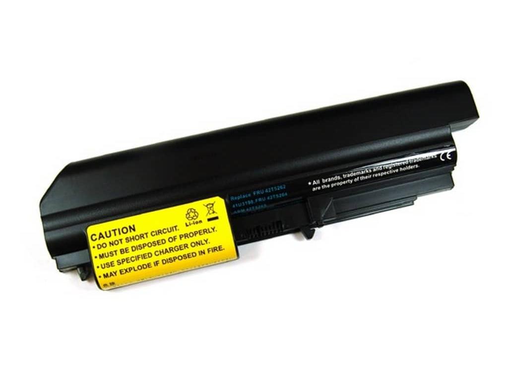 Batéria kompatibilná s IBM Thinkpad R400 + R61/T61 widescreen Li-Ion 4400 mAh