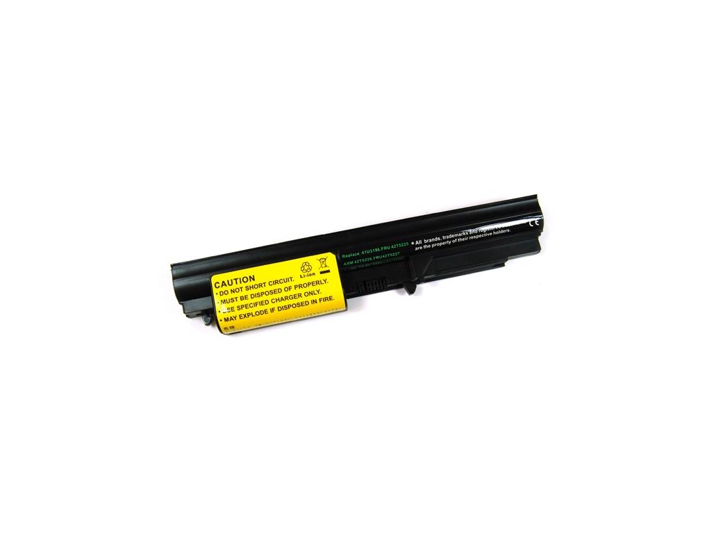 Batéria kompatibilná s IBM Thinkpad R400 + R61/T61 widescreen Li-Ion 2200 mAh tenká