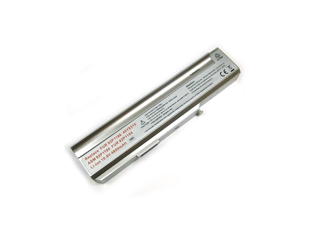 Batéria kompatibilná s Lenovo 3000 séria Li-Ion 4400 mAh strieborná