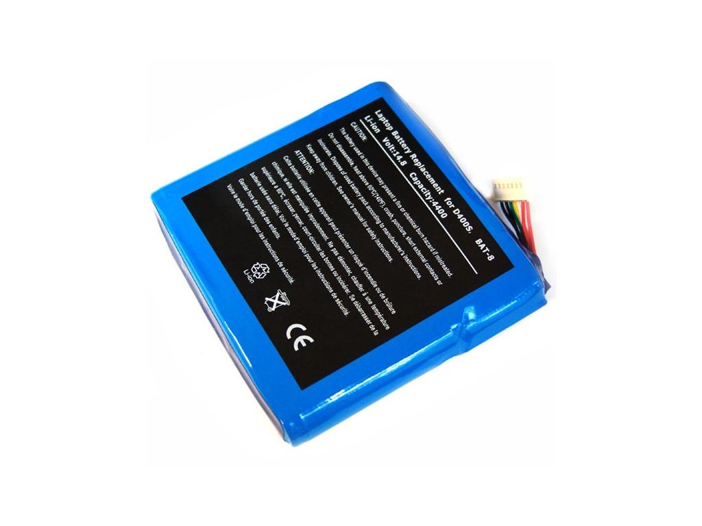 Batéria kompatibilná s Clevo D400 4400 mAh