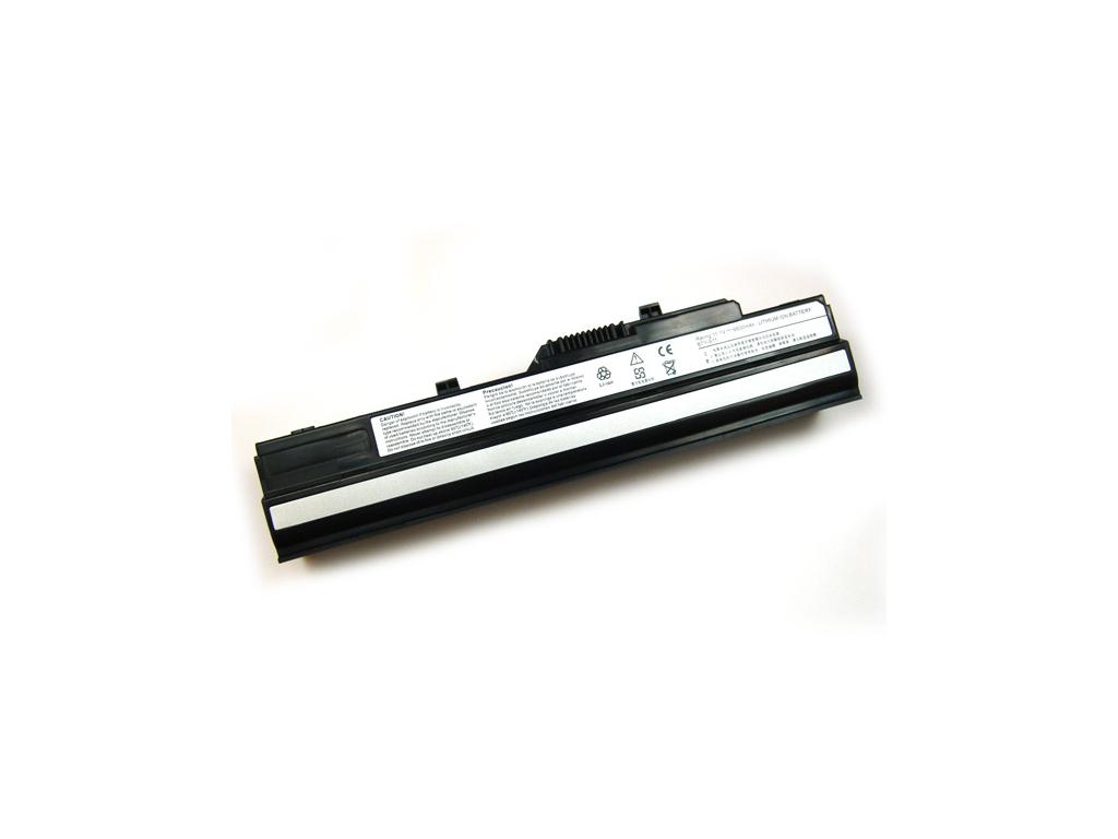 Batéria kompatibilná s MSI Wind U90, U100, U100x, LG X110 Li-Ion 6600 mAh čierna
