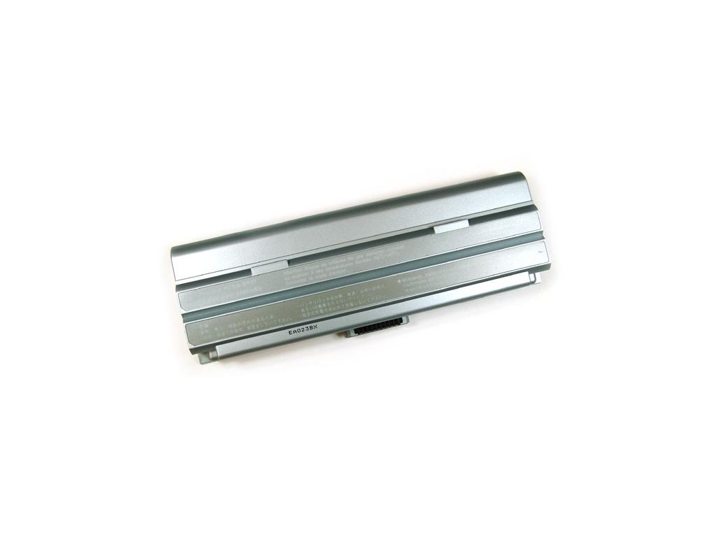 Batéria kompatibilná s Sony VAIO BP3T Li-Ion 6600 mAh strieborná