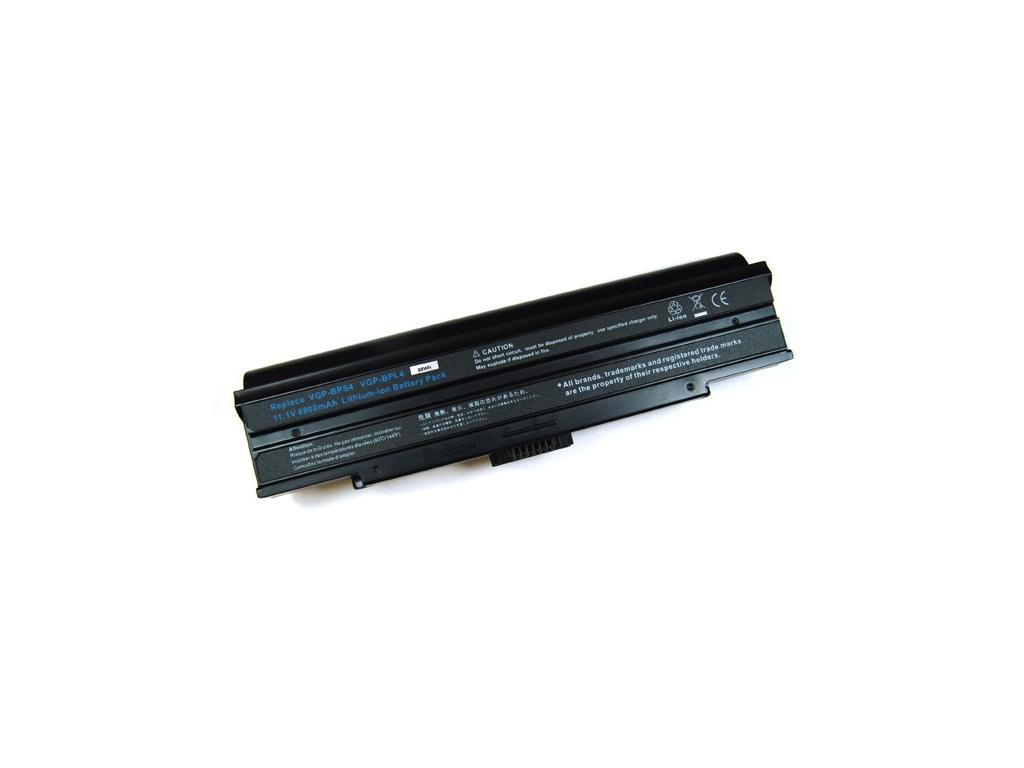 Batéria kompatibilná s Sony VGP-BPS4 / BPL4 8800 mAh