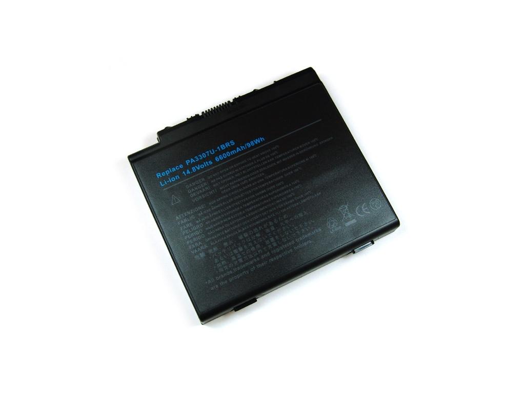 Batéria kompatibilná s Toshiba PA3307U Satellite P10 / P15 6600 mAh