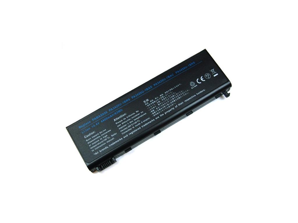 Batéria kompatibilná s Toshiba PA3506U Satellite L100 séria Li-Ion 4400 mAh
