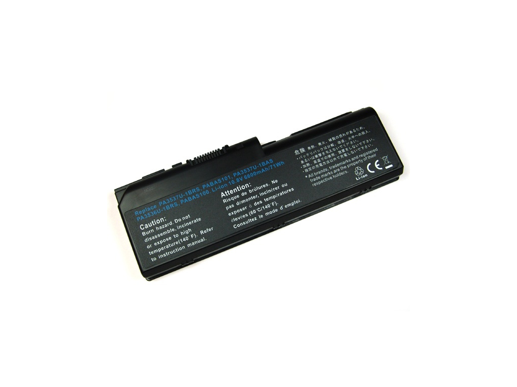 Batéria kompatibilná s Toshiba PA3536U Satellite L350 6600 mAh