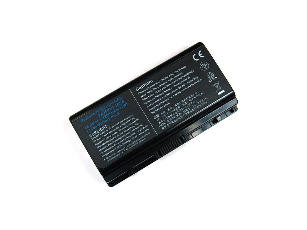Batéria kompatibilná s Toshiba PA3591U Satellite L40, L45, Pro L50 séria 2200 mAh