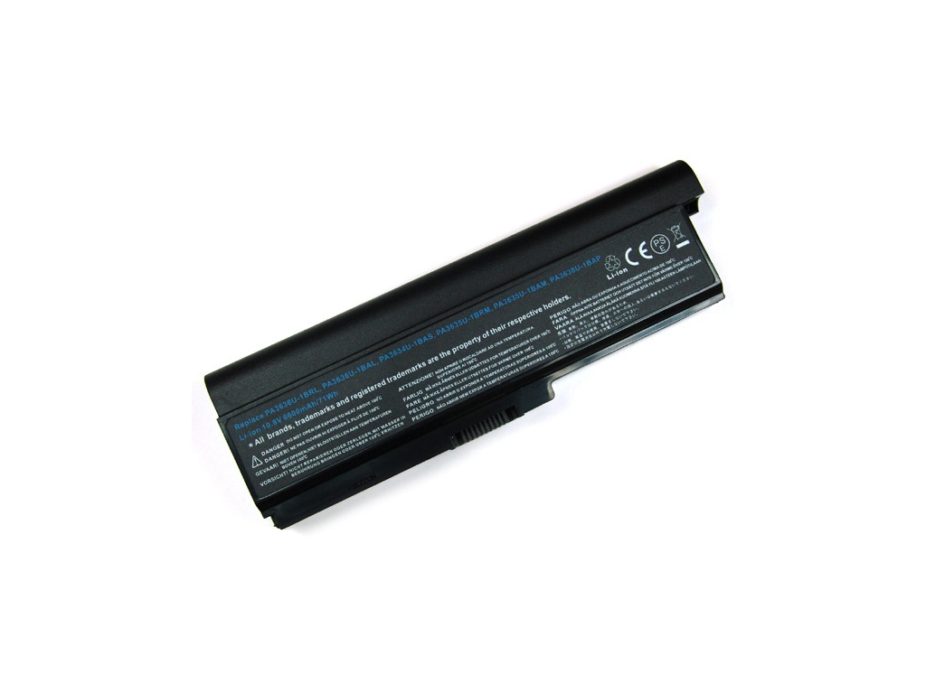 Batéria kompatibilná s Toshiba PA3634U Portege M800 6600 mAh