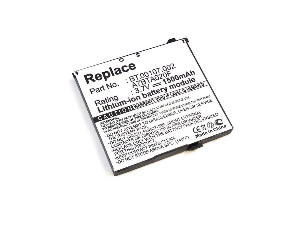 Batéria pre Acer F1 Li-Ion 1500 mAh