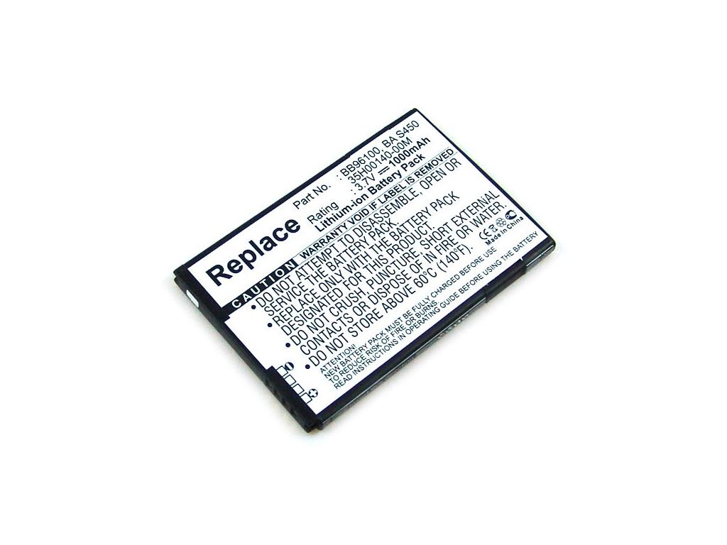 Batéria pre HTC BA S450 Li-Ion 1000 mAh tenká