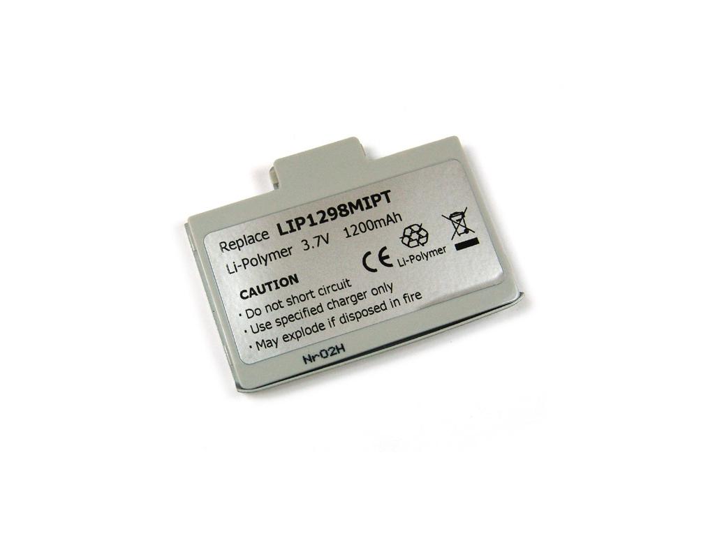 Batéria pre Mitac Mio 558 Li-Polymer 1200 mAh strieborná