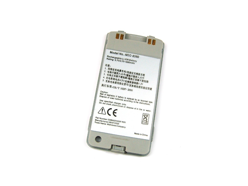 Batéria pre Mitac Mio 8380 Li-Ion 1500 mAh