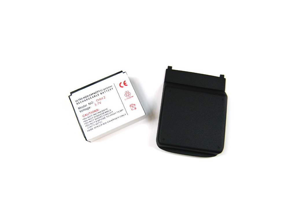 Batéria pre O2 XDA Orbit 2 / XDA Orbit II Li-Ion tučná + kryt