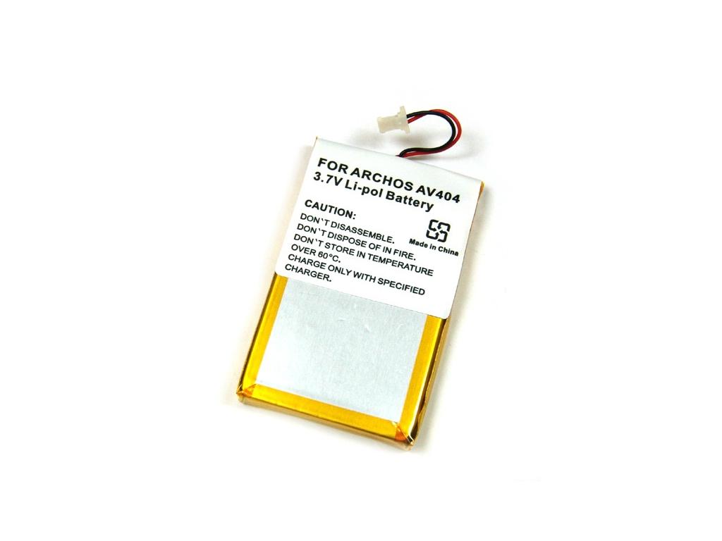 Batéria pre Archos AV404 Li-Polymer strieborná