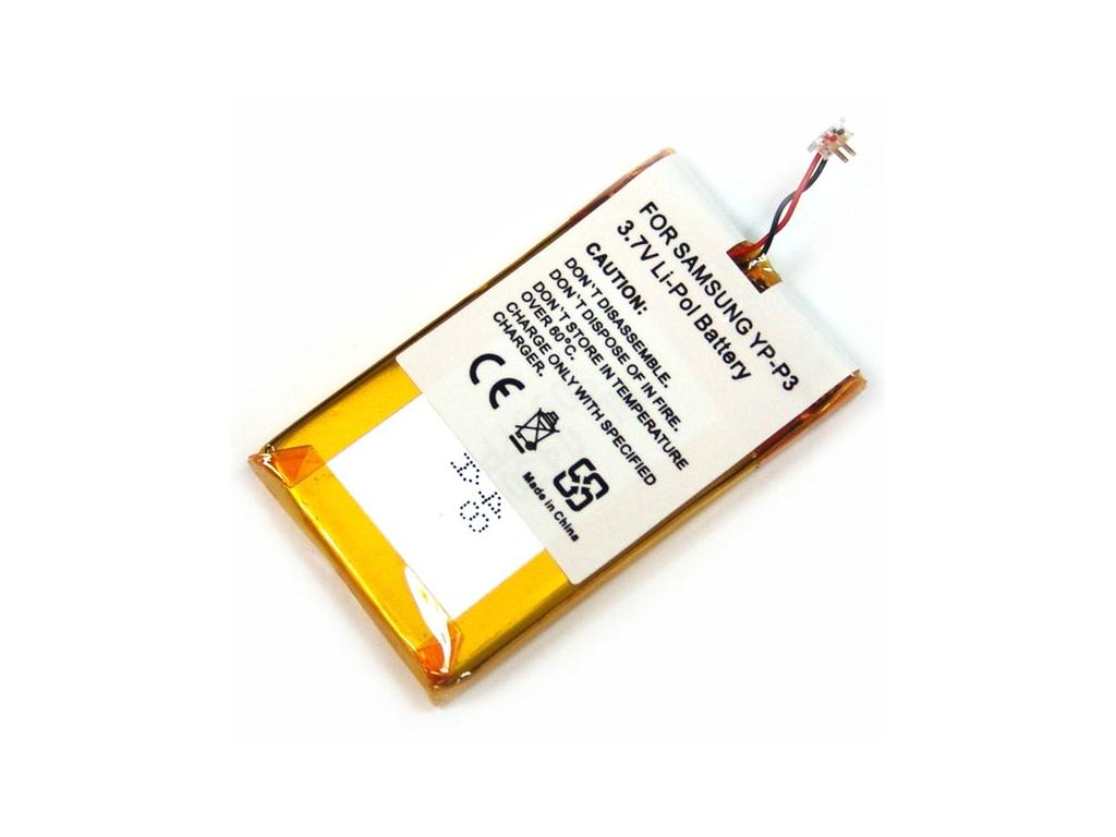 Batéria pre Samsung YP-P3 Li-Polymer 610 mAh