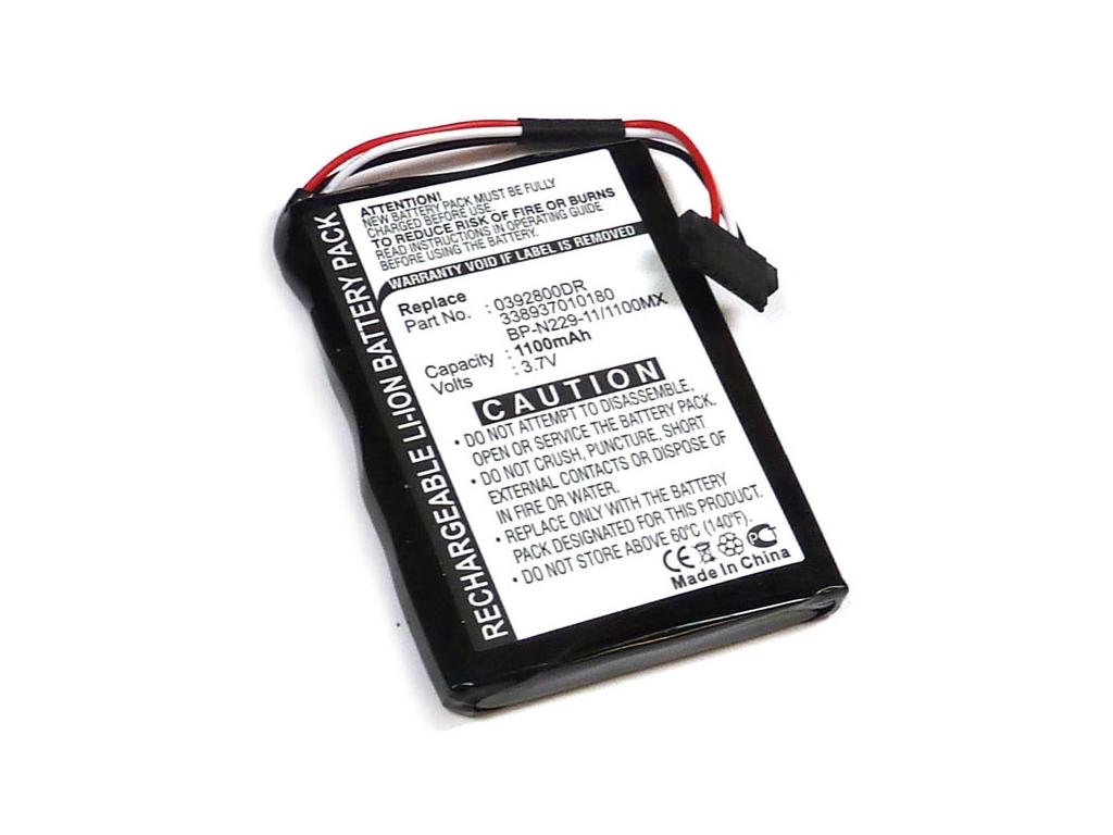 Batéria pre Mitac Mio Moov Spirit 500 Li-Ion 1100 mAh
