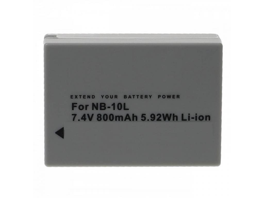Batéria pre Canon NB-10L, Li-ion 800 mAh