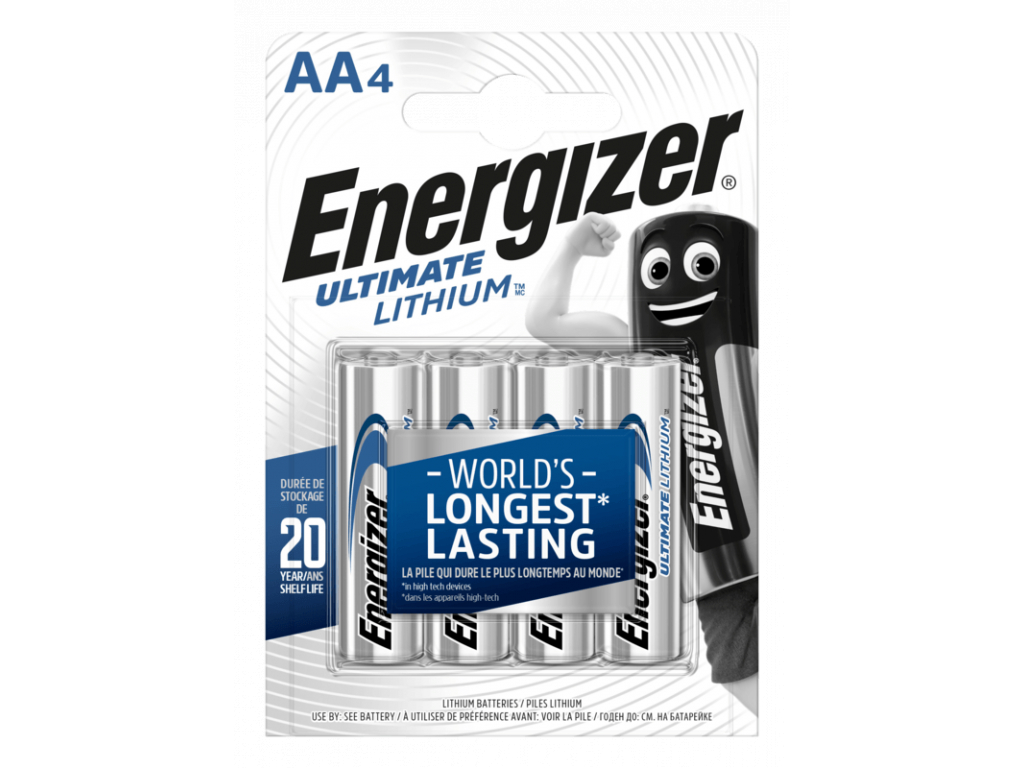 Baterie Energizer Ultimate Lithium AA 4 ks blister