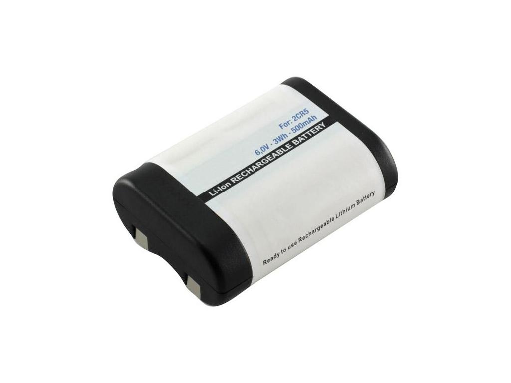 Batéria nabíjacia 2CR5 500 mAh