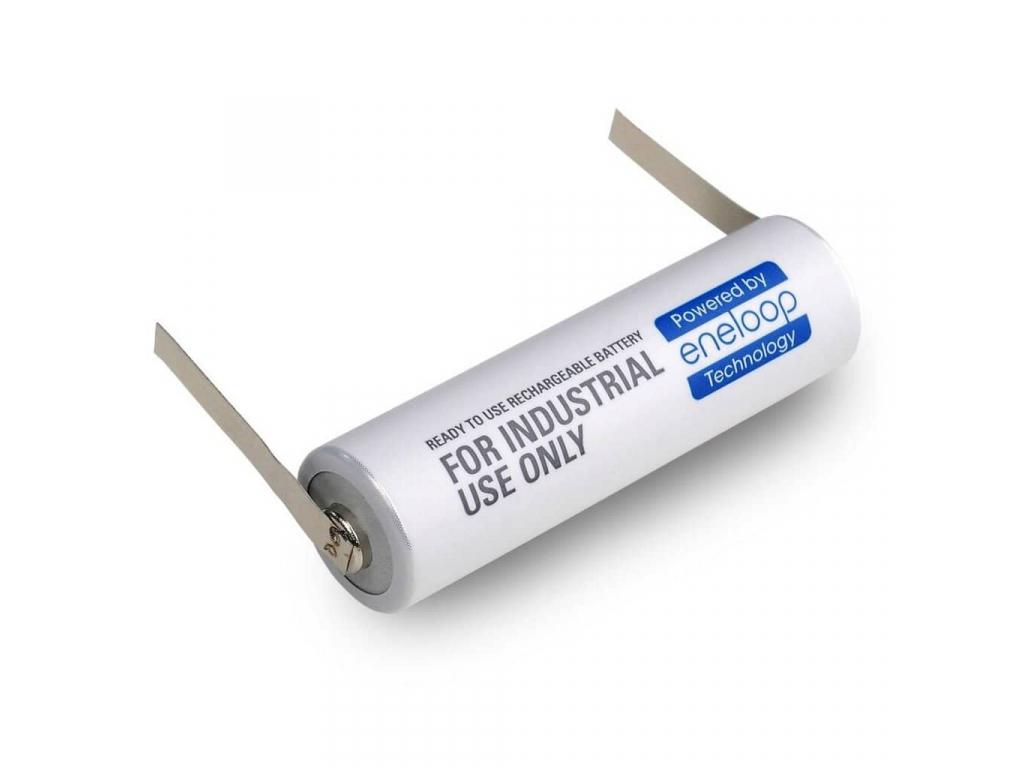 Panasonic akumulátor eneloop AA 1900 mAh s naletovanými U-vývodmi 1 ks