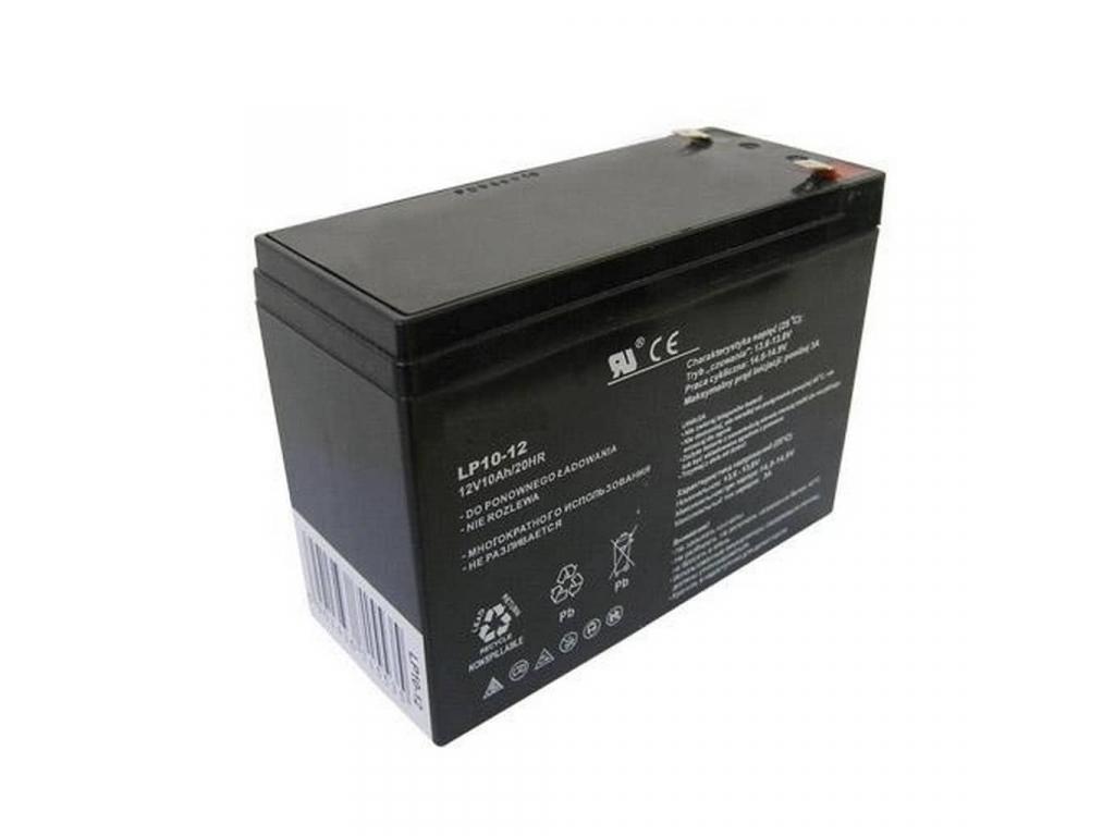 Akumulátor olovený 12V 10Ah bezúdržbový