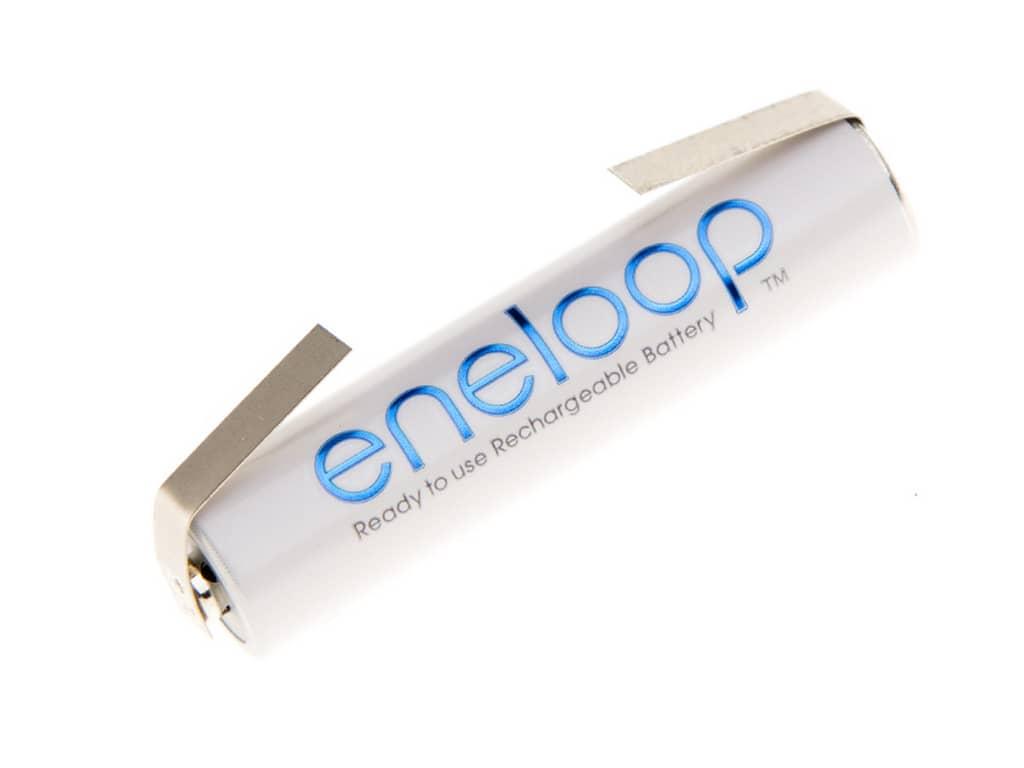 Panasonic akumulátor eneloop AAA 750 mAh s naletovanými vývodmi 1 ks