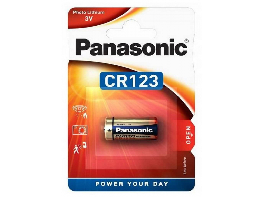 Bateria Panasonic CR123