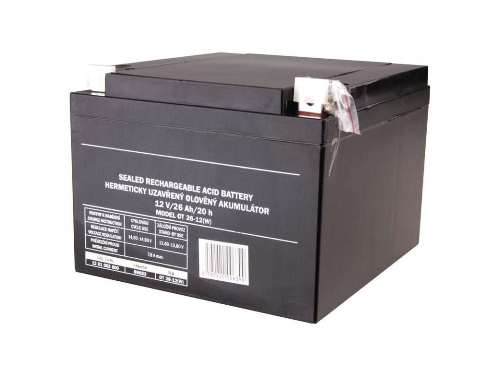 Akumulátor olovený SLA 12V 26Ah L2, AGM