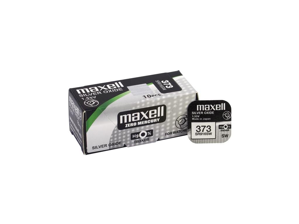 Batéria gombíková mini Maxell 373, SR 916 SW
