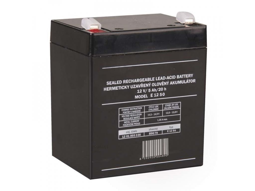 Akumulátor olovený 12V 5Ah bezúdržbový