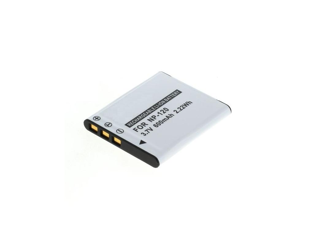 Batéria pre Casio NP-120, Li-ion 600 mAh