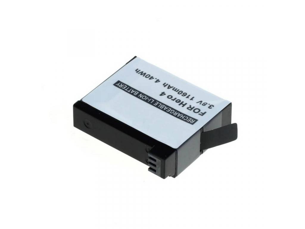Batéria pre GoPro HD HERO4, Li-ion 1160 mAh