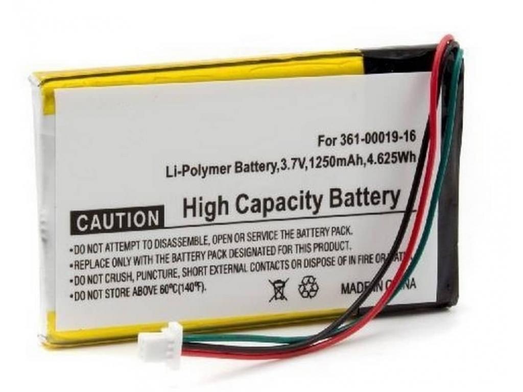 Batéria pre Garmin Nüvi 1300, 1350, 1350T, 1370, 1370T, 1390, 1390T, 1490  Li-ion 1250 mAh