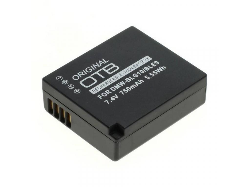 Batéria pre Panasonic DMW BLG10 DMW BLE9 Li ion 750 mAh