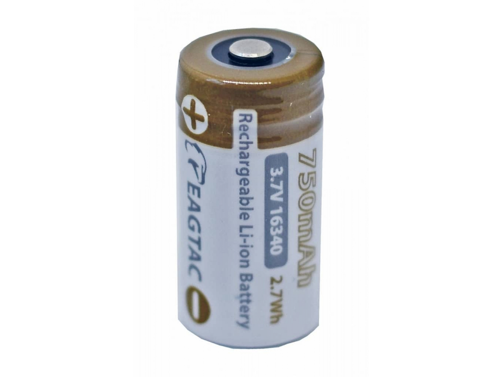 Batéria pre kamery ARLO RCR123A, CR123, 16340 750 mAh 3.7V Eagletac