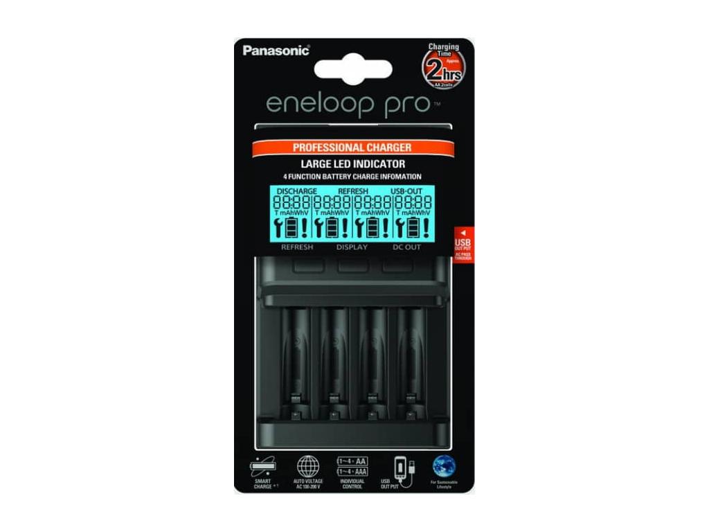 Nabíjačka Panasonic Eneloop BQ-CC65