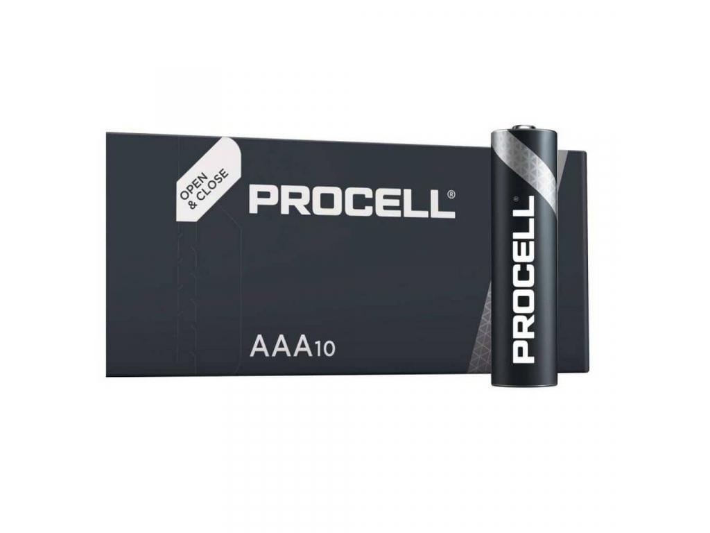 Batéria Duracell PROCELL (Industrial) AAA 1.5 V LR03 10 ks balenie