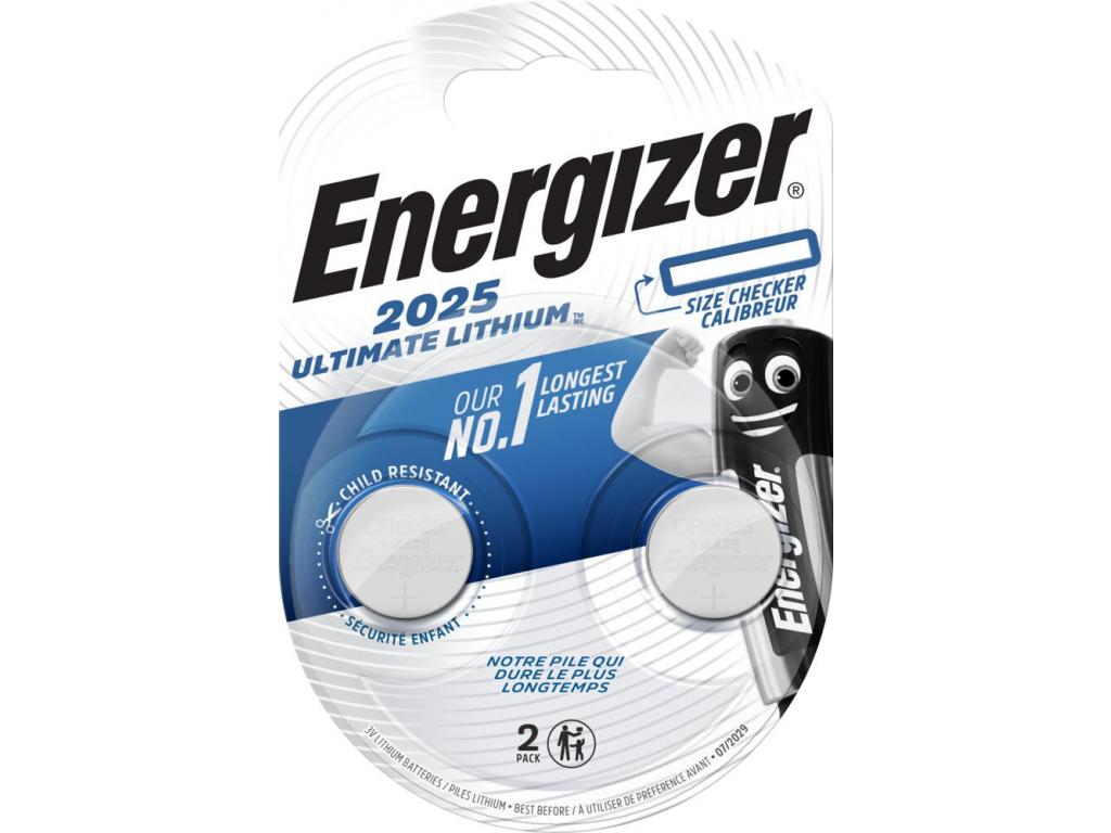 Batéria Energizer Ultimate Lithium CR2025 2 ks