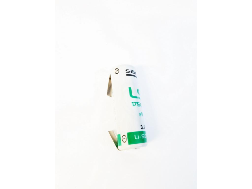Batéria lítiová SAFT LS17500 R23 3,6V veľkosť A s naletovanými U-vývodmi