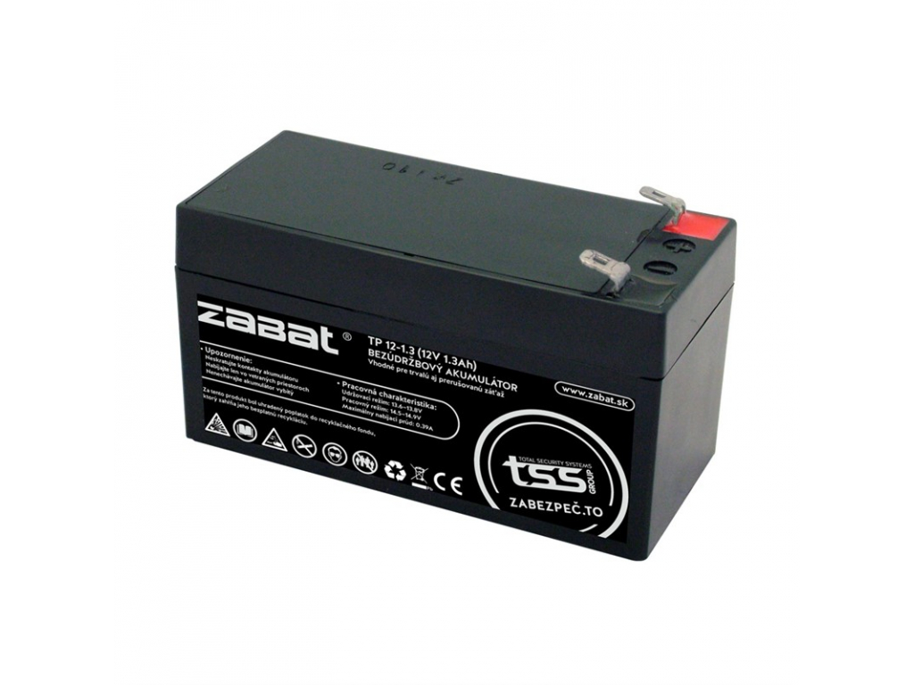 Akumulator Zabat 12V 1,3Ah