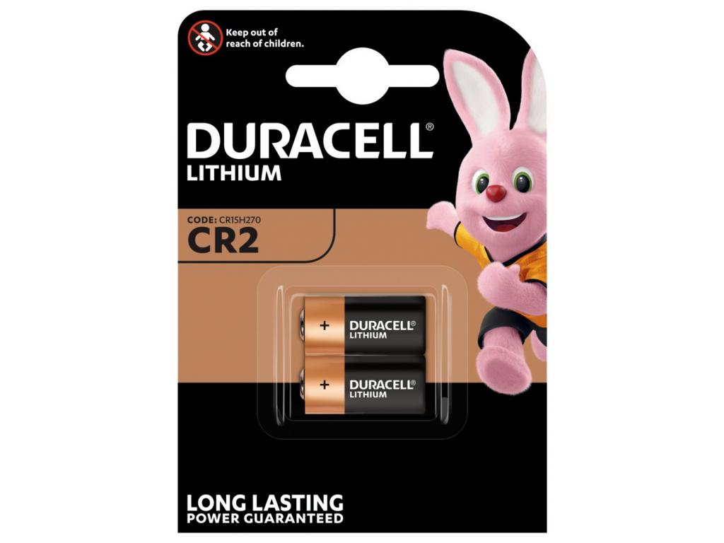 Bateria Duracell CR2 balenie 2 ks