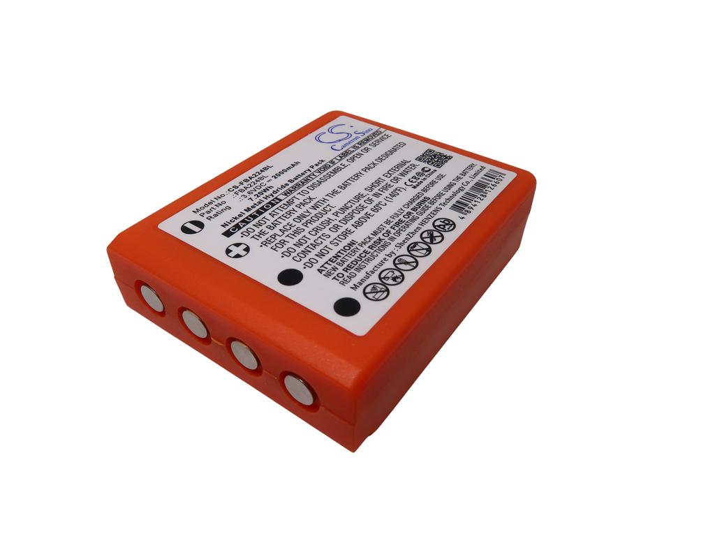 Batéria pre HBC Radiomatic Linus 4, Micron 7, Patrol D 3.6V NI MH 2000 mAh