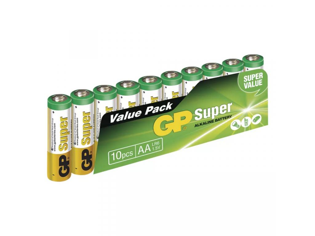 Baterie GP Super Alkaline AA R6 10 ks